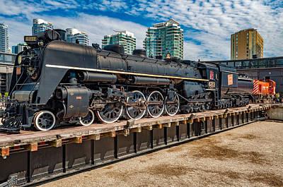 Steam Engine Photograph - Steam Engine by Steve Harrington