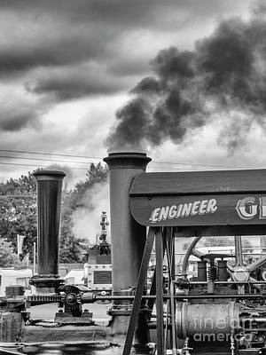 Photograph - Steam Engines by Jim Orr