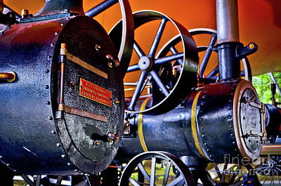 Photograph - Steam Engines - Locomobiles by Carlos Alkmin