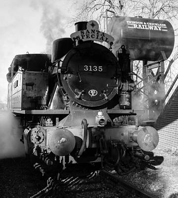 Steam Express Print by Steven Sexton