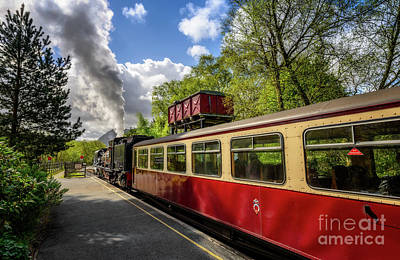 Photograph - Steam Loco 87 by Adrian Evans