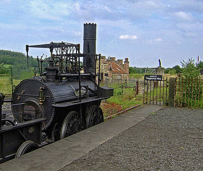 Photograph - 1st British Steam Locomotion  by Doc Braham
