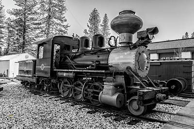 Photograph - Steam Locomotive 5 by Jim Thompson