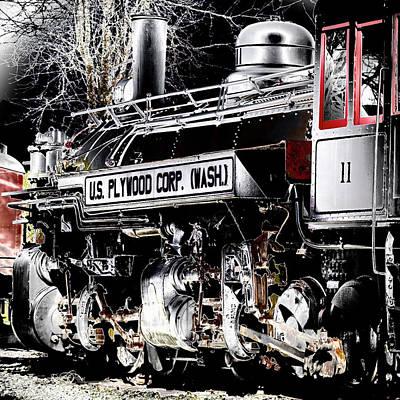 Photograph - Steam Locomotive by David Patterson