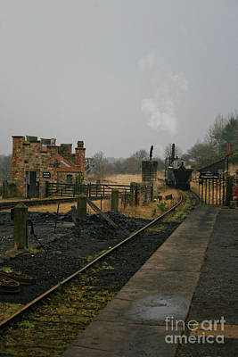 Photograph - Steam Locomotive by Doc Braham