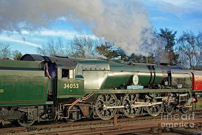 Photograph - Steam Locomotive Elegance by David Birchall