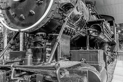 Photograph - Steam Locomotive Front Angle View by Doug Camara