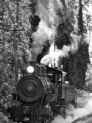 Photograph - Steam Locomotive by Jean Wright