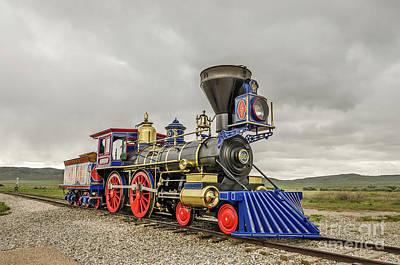 Photograph - Steam Locomotive Jupiter by Sue Smith