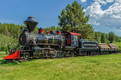 Photograph - Steam Locomotive Number 7  -  Bhc001 by Frank J Benz