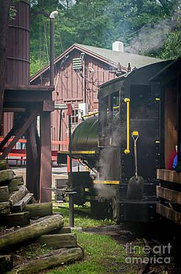 Photograph - Steam Locomotive Train by Deborah Klubertanz