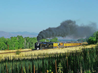 Union Pacific 844 Photograph - Steam On The Joint Line by Ken Smith