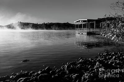 Photograph - Steam On The Lake 2 by Dennis Hedberg
