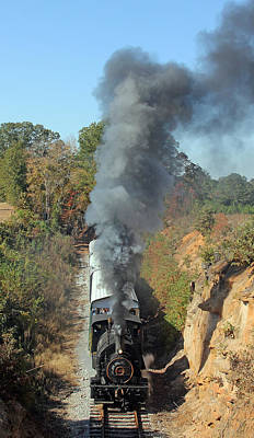 Photograph - Steam On The South Carolina Railroad Museum 1 by Joseph C Hinson Photography