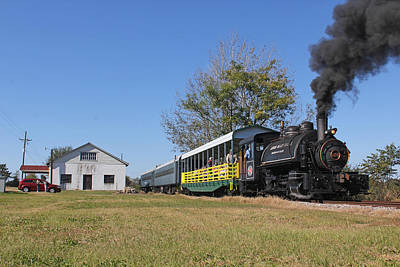 Photograph - Steam On The South Carolina Railroad Museum 4 by Joseph C Hinson Photography