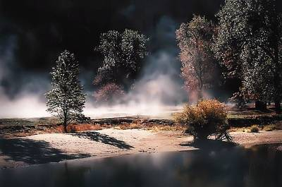 Photograph - Steam On The Valley by Nadalyn Larsen