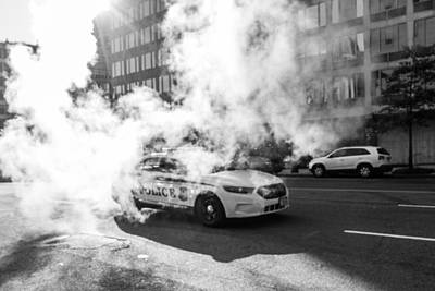 Photograph - Steam Police by SR Green
