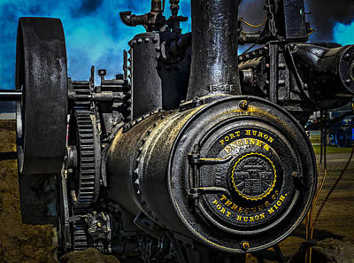 Keck Photograph - Steam Power by F Leblanc