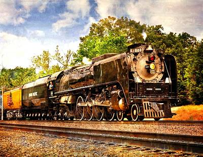 Photograph - Steam Power by Marty Koch