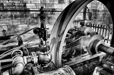 Photograph - Steam Power by Paul W Faust - Impressions of Light
