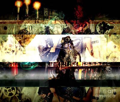 Digital Art - Steam Punking by John Rizzuto