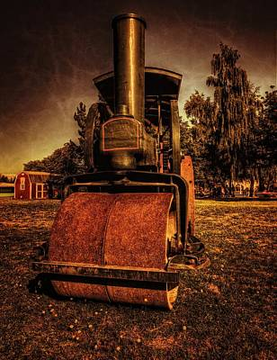 Photograph - Steam Roller by Thom Zehrfeld