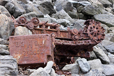 Photograph - Steam Shovel Number One by Kandy Hurley