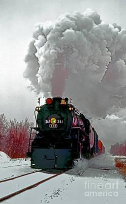 Photograph - Steam Town 261 Scranton Tobyhanna Pa by Tom Jelen