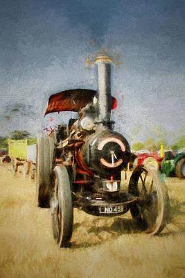 Steam Traction Engine Original
