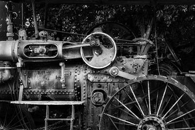 Photograph - Steam Tractor  by James Barber