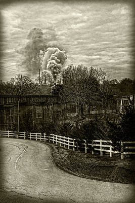 Photograph - Steam Trail by Sharon Popek