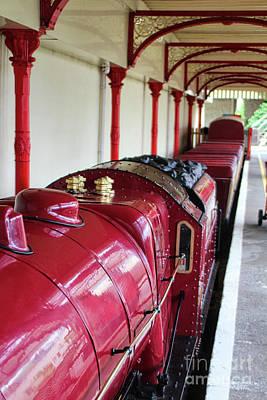 Photograph - Steam Train Art  by Doc Braham