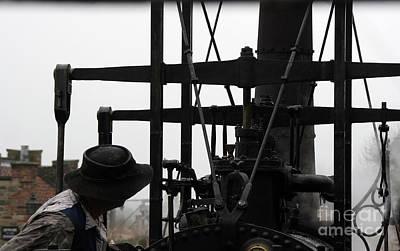 Photograph - Steam Train Driver by Doc Braham