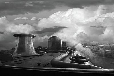 Photograph - Steam Train Driver's View by Gill Billington