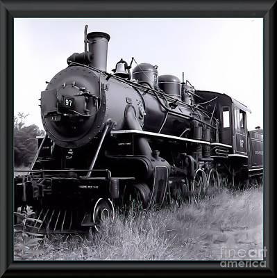Steam Train Art Print by James  Dierker