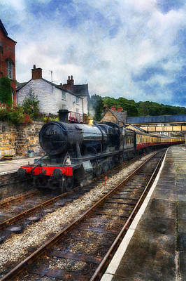 Photograph - Steam Train Journey by Ian Mitchell