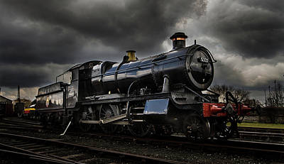 Photograph - Steam Train by Ken Brannen