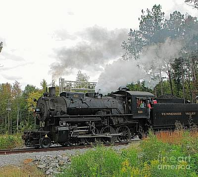 Photograph - Steam Train by Pete Trenholm
