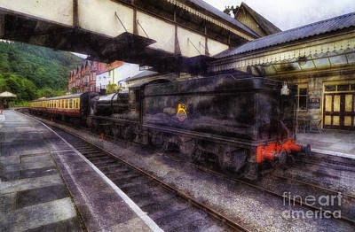 Boiler Digital Art - Steam Train Ride by Ian Mitchell