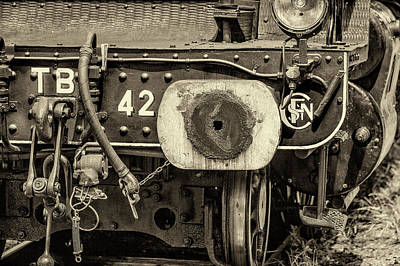 Photograph - Steam Train Series No 1 by Clare Bambers