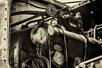 Photograph - Steam Train Series No 15 by Clare Bambers
