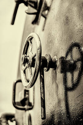 Photograph - Steam Train Series No 25 by Clare Bambers