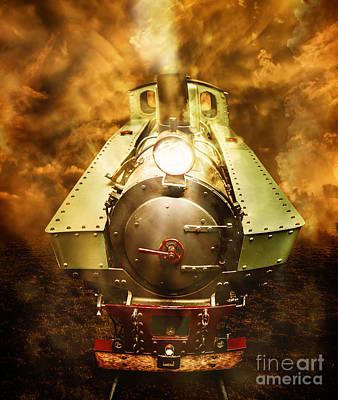 Headlamp Photograph - Steam Train Stories by Jorgo Photography - Wall Art Gallery
