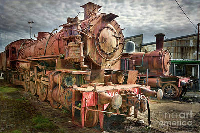 Photograph - Steam Train by Stuart Row