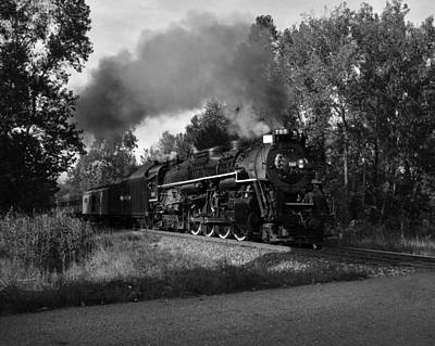 Photograph - Steam Train V by Ann Bridges