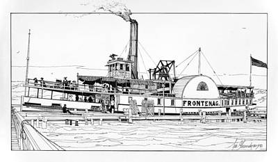 Photograph - Steamboat Frontenac by Ira Shander
