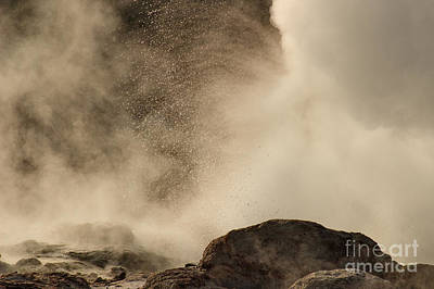 Photograph - Steamboat Geyser Spray by Charles Kozierok