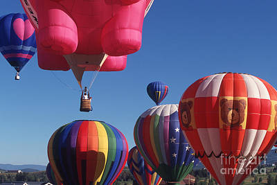 Photograph - Steamboat Springs Balloons by Stan and Anne Foster