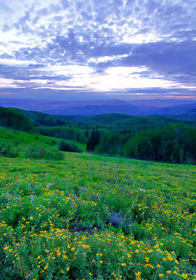 Photograph - Steamboat Springs Sunset by Don Schwartz