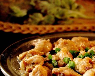 Photograph - Steamed Chicken Wings With Black Beans by Katy Mei